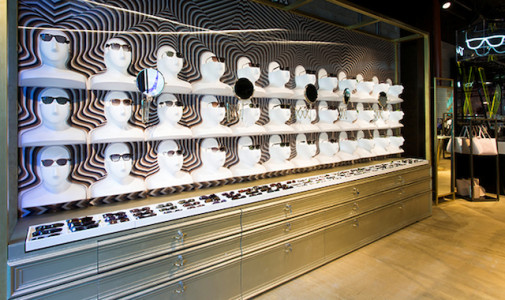 Ted Baker &Moore retail design Commercial Road London.