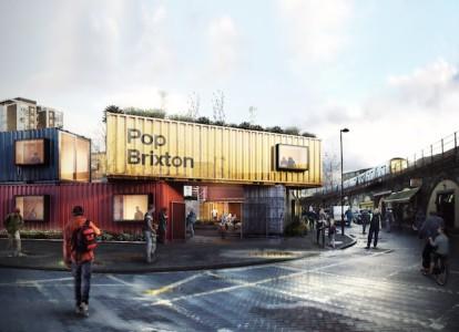 Pop Brixton retail park