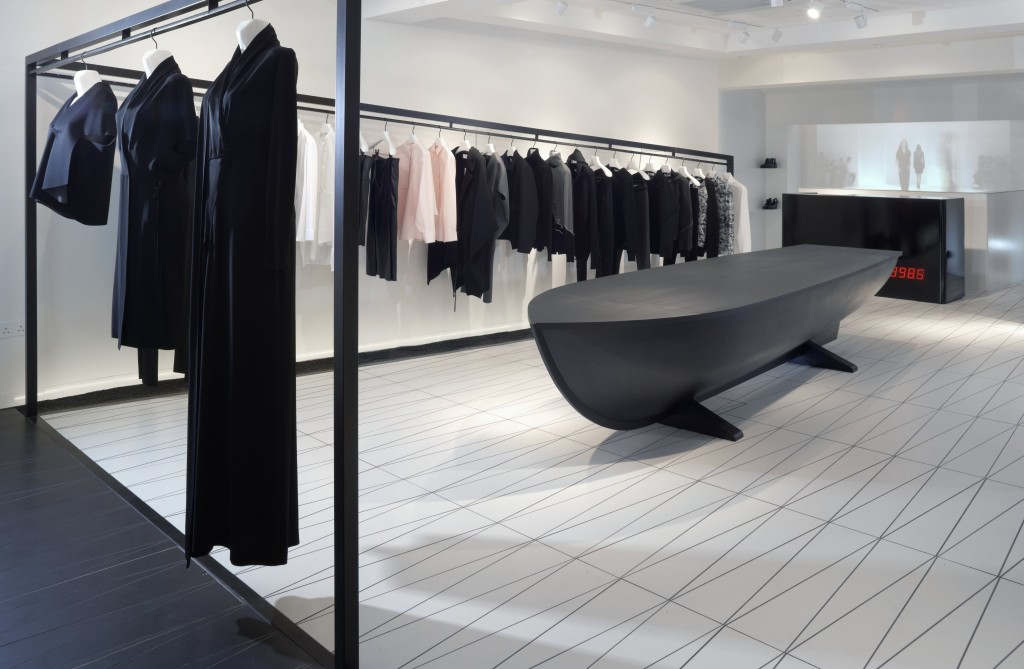 Hussein Chalayan flagship store design retail trends interview 2016