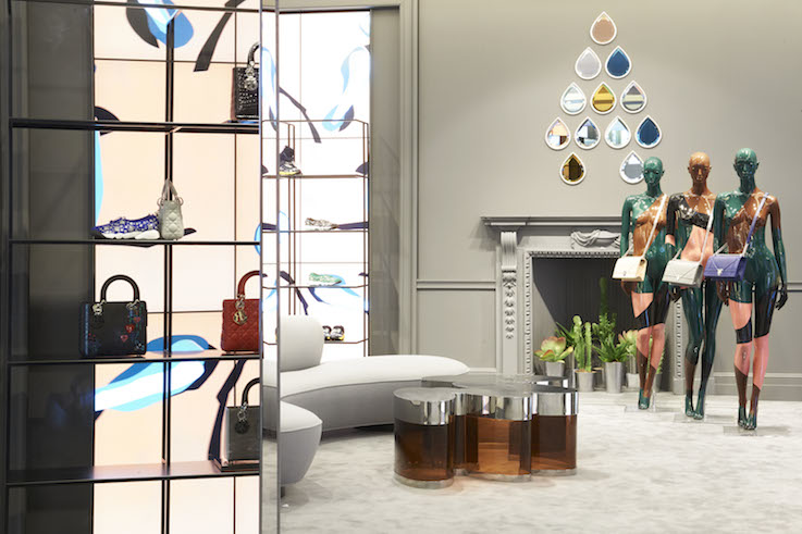 the luxury pop up inside dior s mount street store insider trends