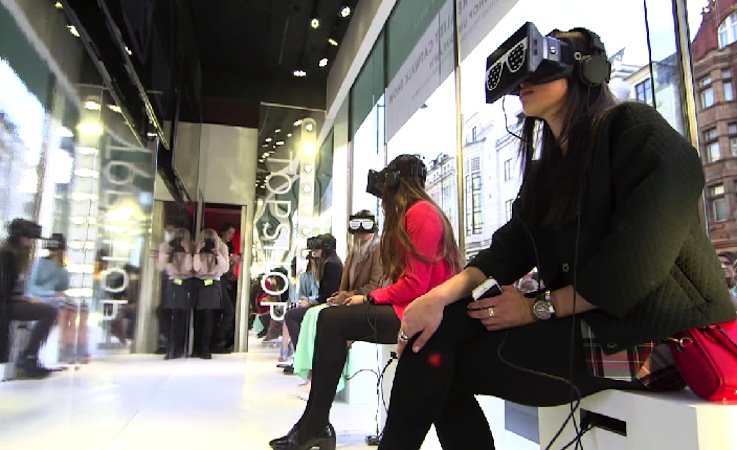 Virtual reality, Topshop, retail trends, retail innovations, innovations of 2015, future of retail,