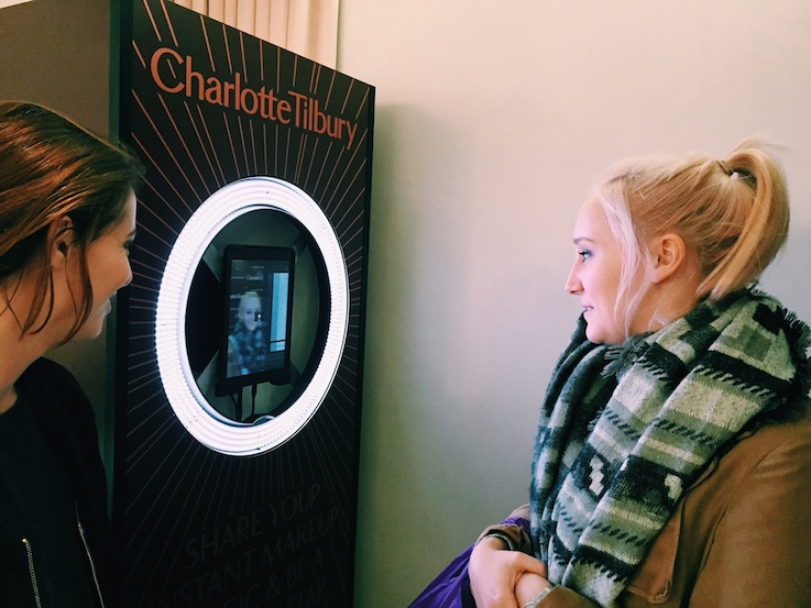 Charlotte Tilbury, retail merchandising, retail tech, visual merchandising, retail safaris, trend tours