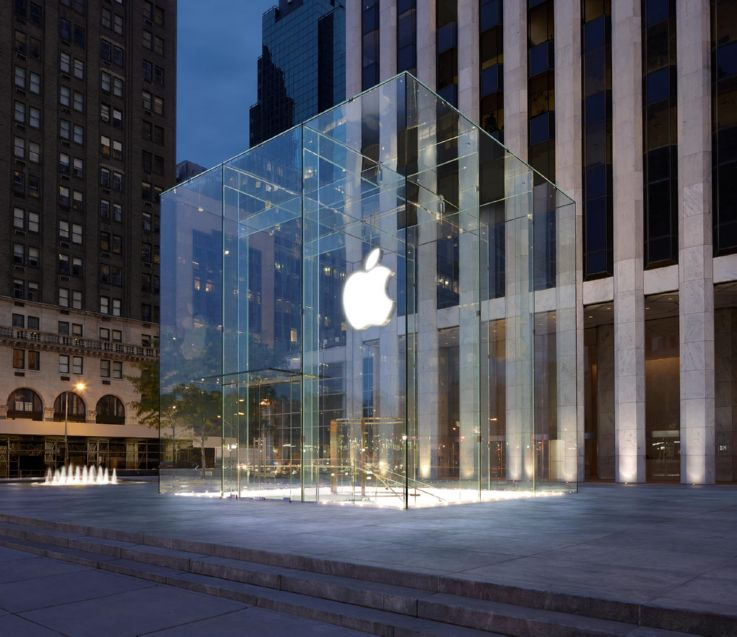 Flagship stores New York - tech store Apple