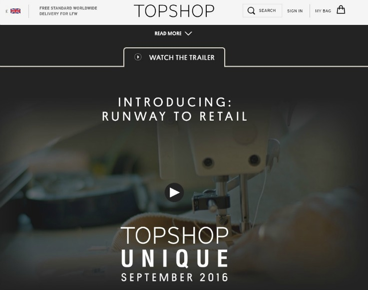 topshop strategy Topshop's recent announcement that it will launch an australian ecommerce platform this month has caught the eye of many local retailers the uk-headquartered brand has been something of a fashion retail pioneer since it came to life in the 1970s.