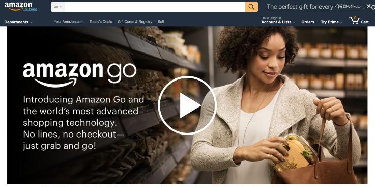 Amazon Go store technology