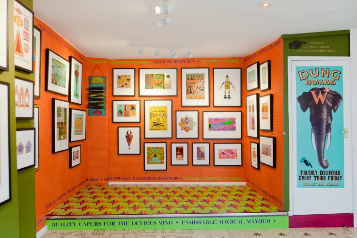House of MinaLima concept store