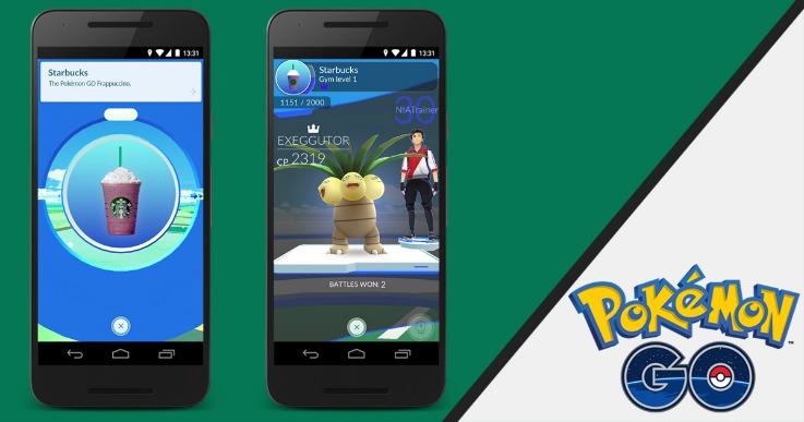 Starbucks Pokemon Go app technology