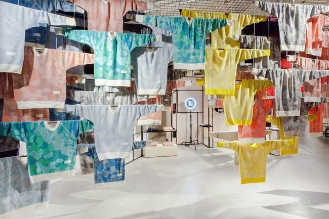 Insider Trends Adidas Knit Concept store