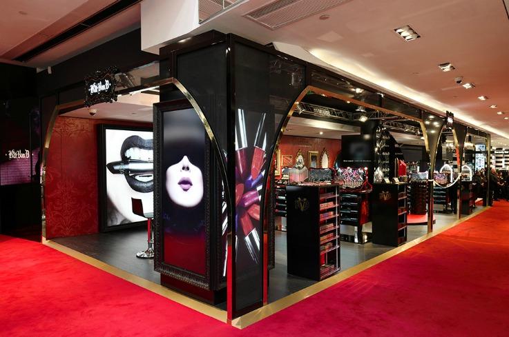 Kat Von D Sephora retail design