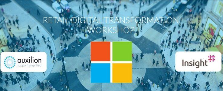 Retail transformation workshop technology