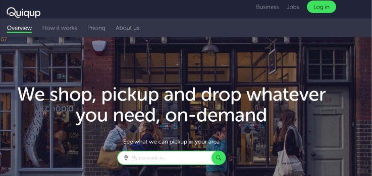 Quiqup retail logistics local