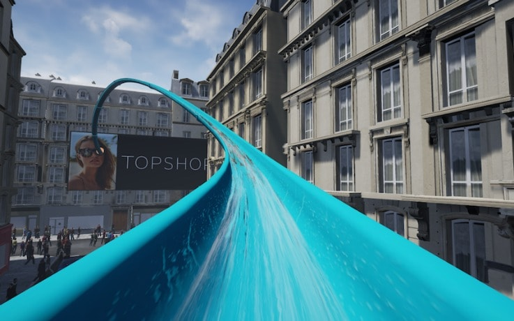 Topshop VR experience