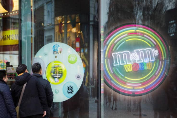M&M's - Physical Retail