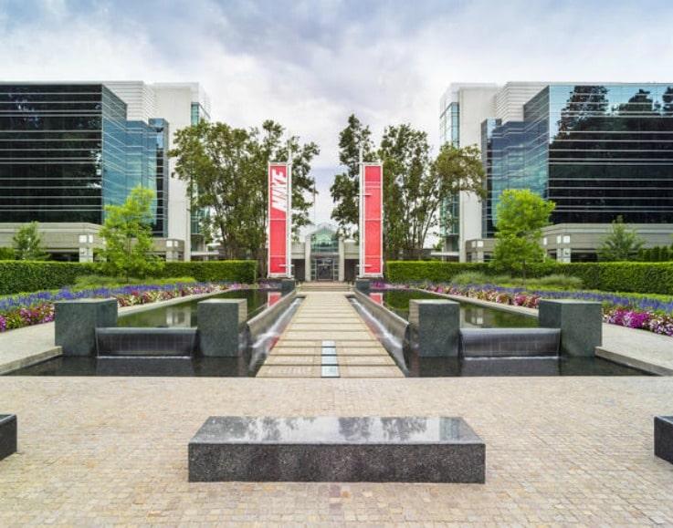 Nike campus HQ retail brand
