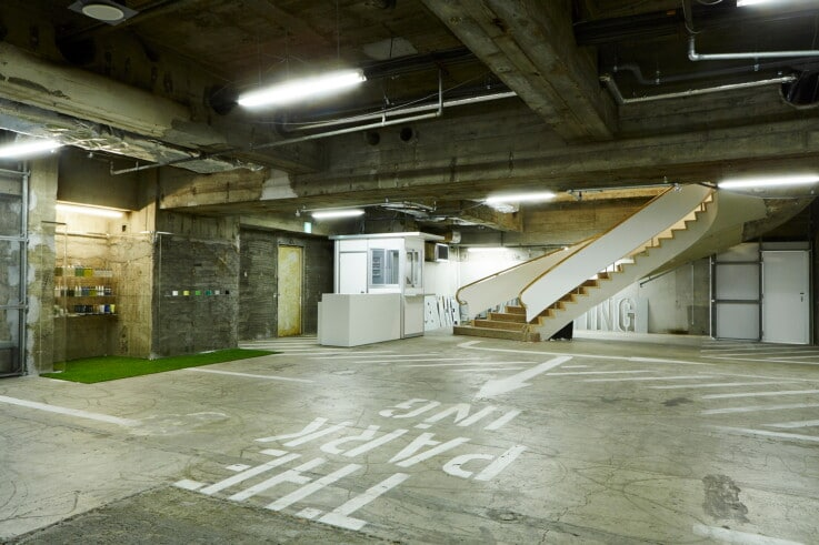 The PARK・ING Ginza - Store Design
