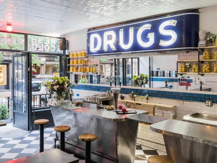 The Drugstore - Popup Design
