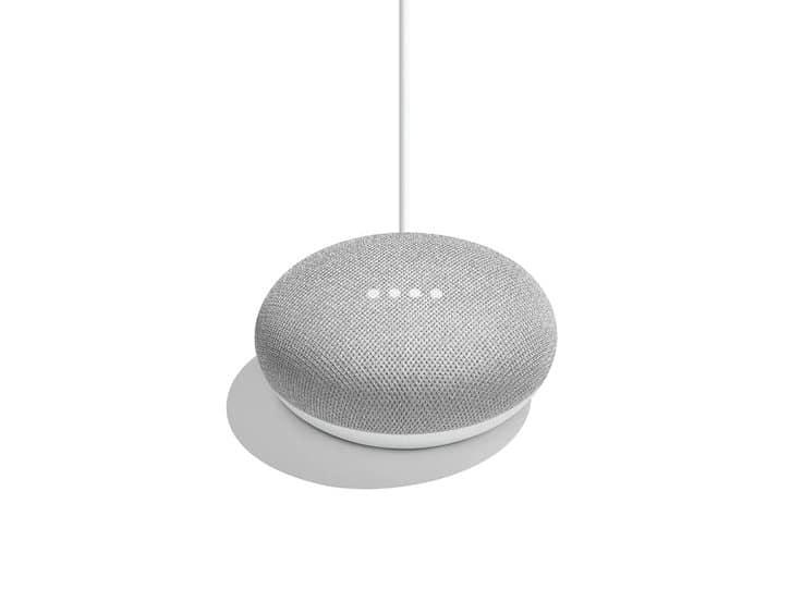 Voice shopping Google Home Mini