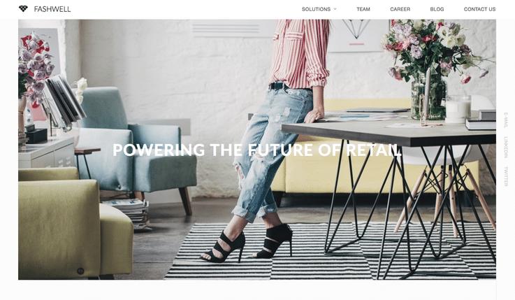 Fashwell innovation retail tech