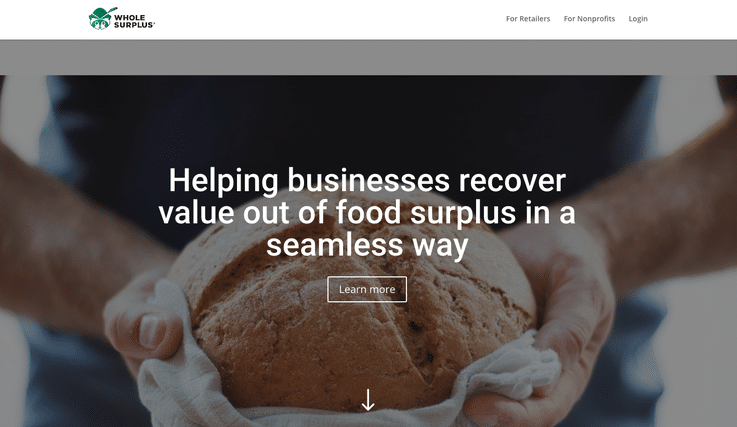 Whole Supply retail start-up innovative