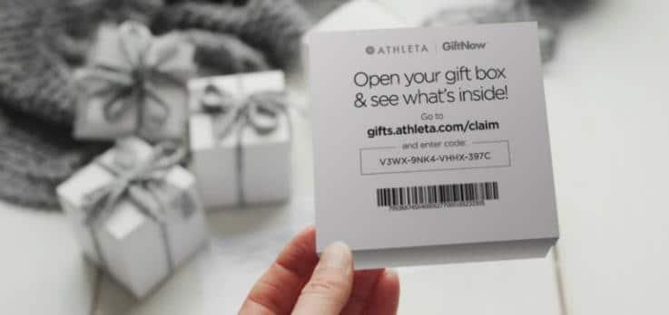 Athleta Gift Now - Retail Innovation