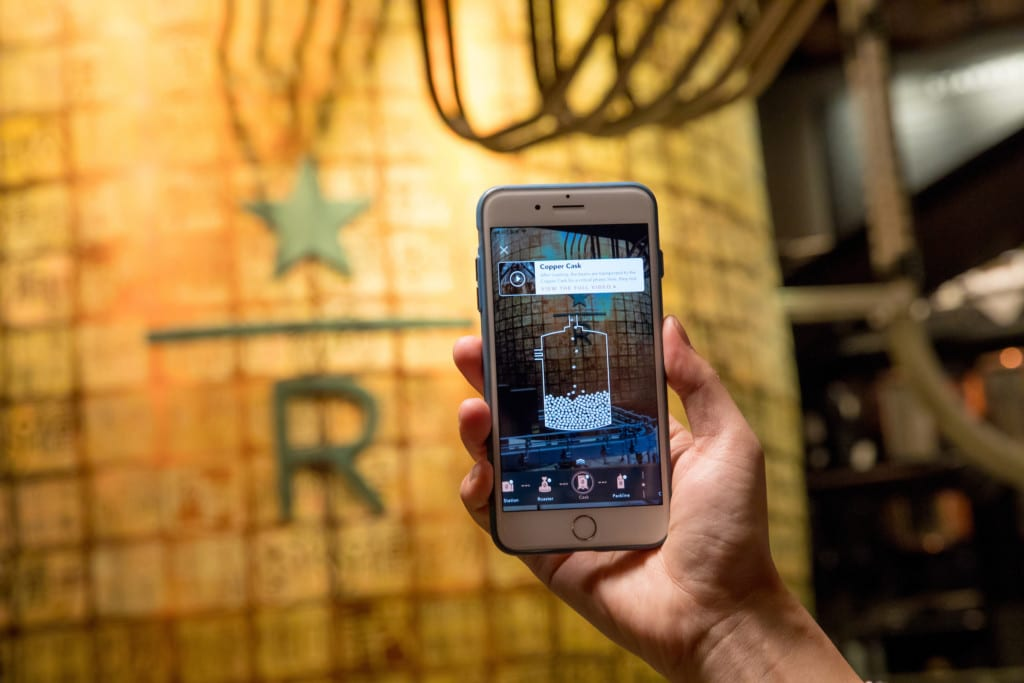 Starbucks augmented reality retail innovation