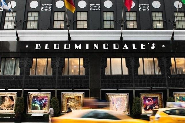 Bloomingdales Glowhaus retail department store