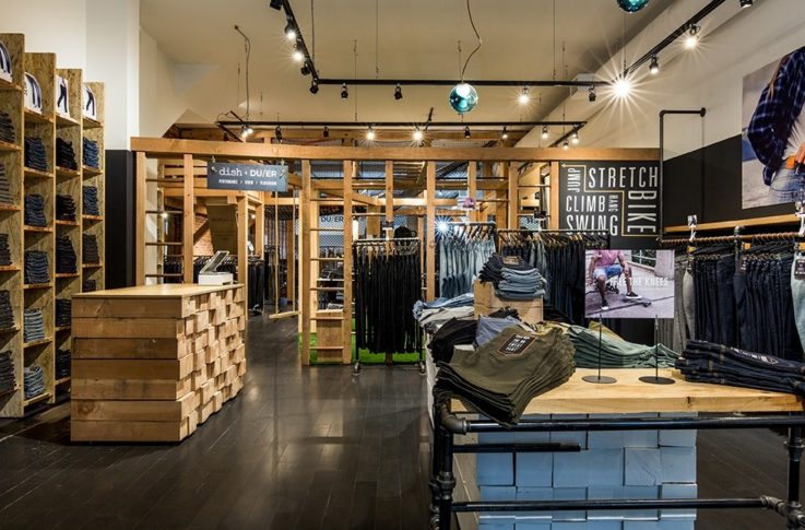 Dish & DUER retail store experience