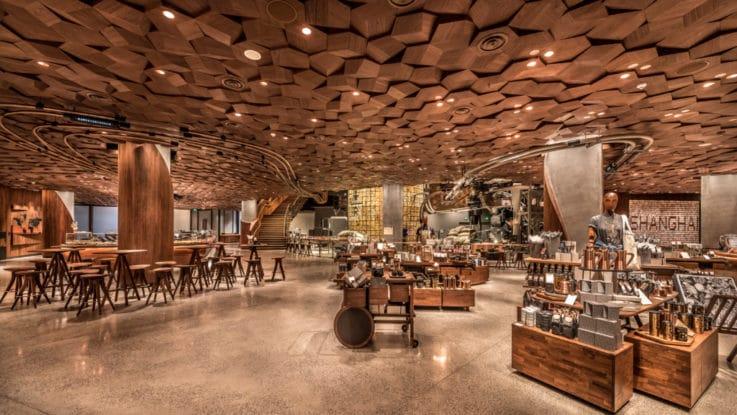 Starbucks retail tech innovation experience