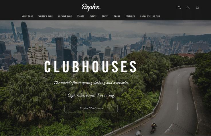 Rapha future of luxury retail