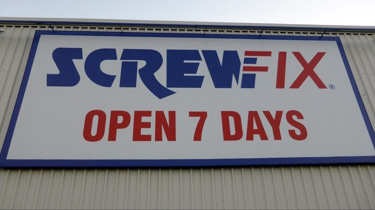 ScrewFix retail growth