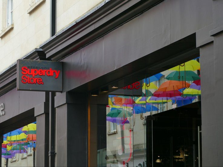 Superdry fast growing retail