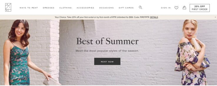 Rent The Runway - Retail Stores