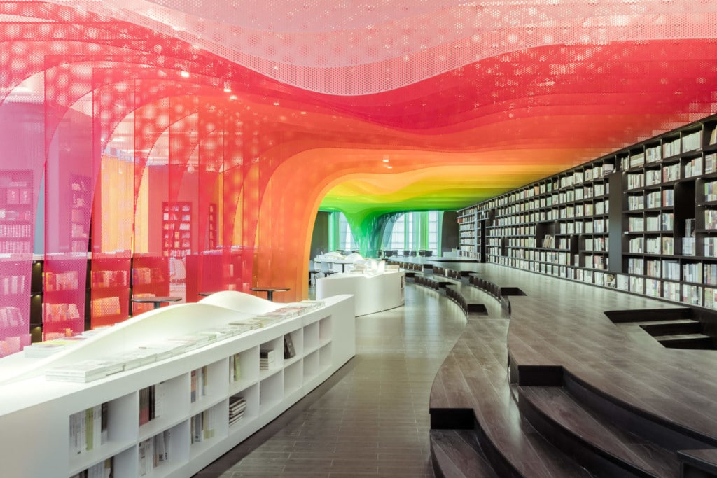 zhongshu-bookstore retail design