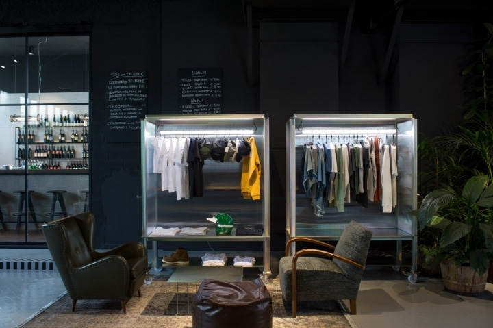 Filling Station Motel Garage and Concept store by Visual Display Udine Italy