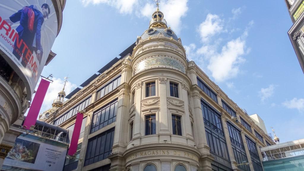 Paris retail stores