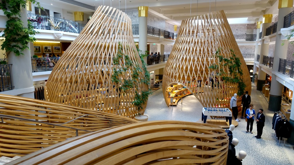 retail trend tour Paris