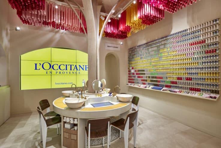 L'Occitane Flatiron New York store design