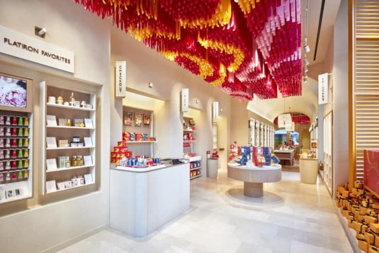 L'Occitane Flatiron store design