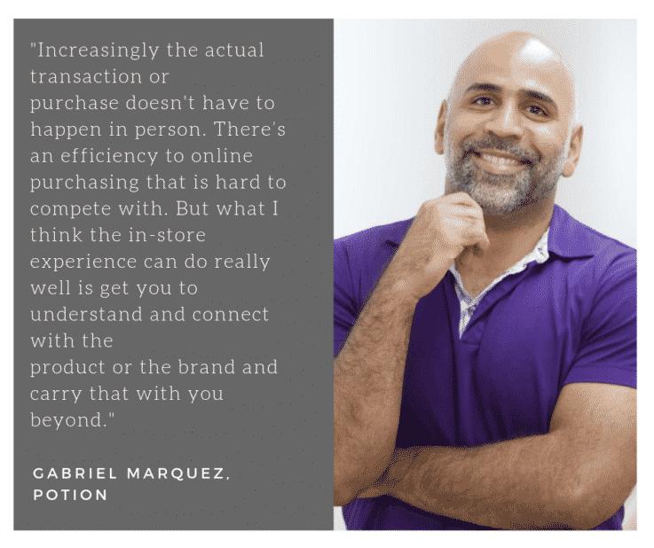 Gabriel Marquez retail tech strategy
