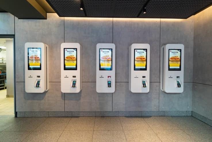 McDonald's to Go self order screens