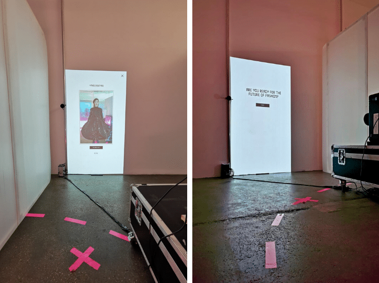 digital fashion store experience
