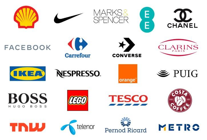 client logo panels for slideshow