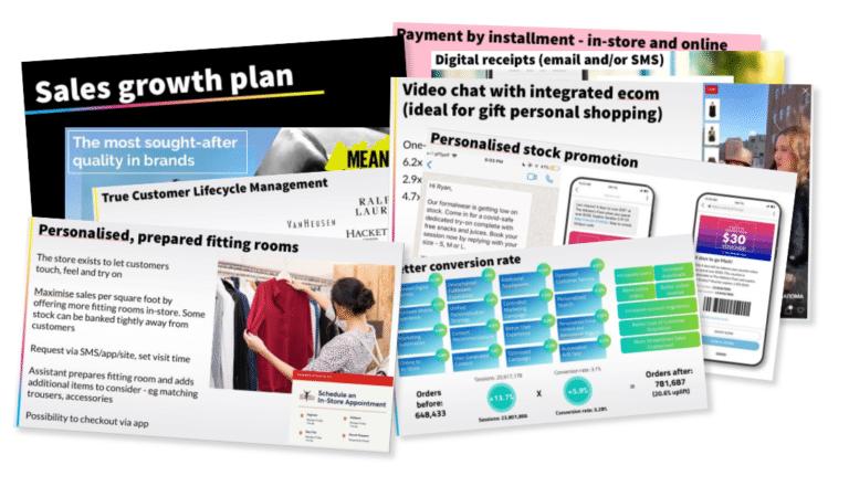 Retail sales growth plan