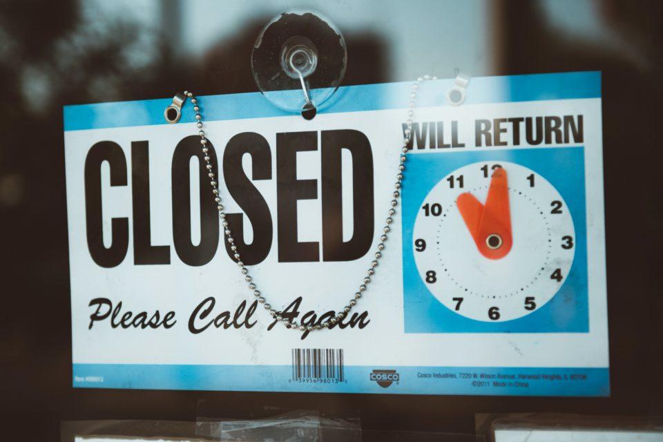 Insider Trends Blog Closed 2020